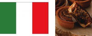 国旗+イタリア栗