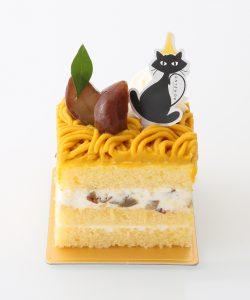 17Aかぼちゃと栗のショートケーキ