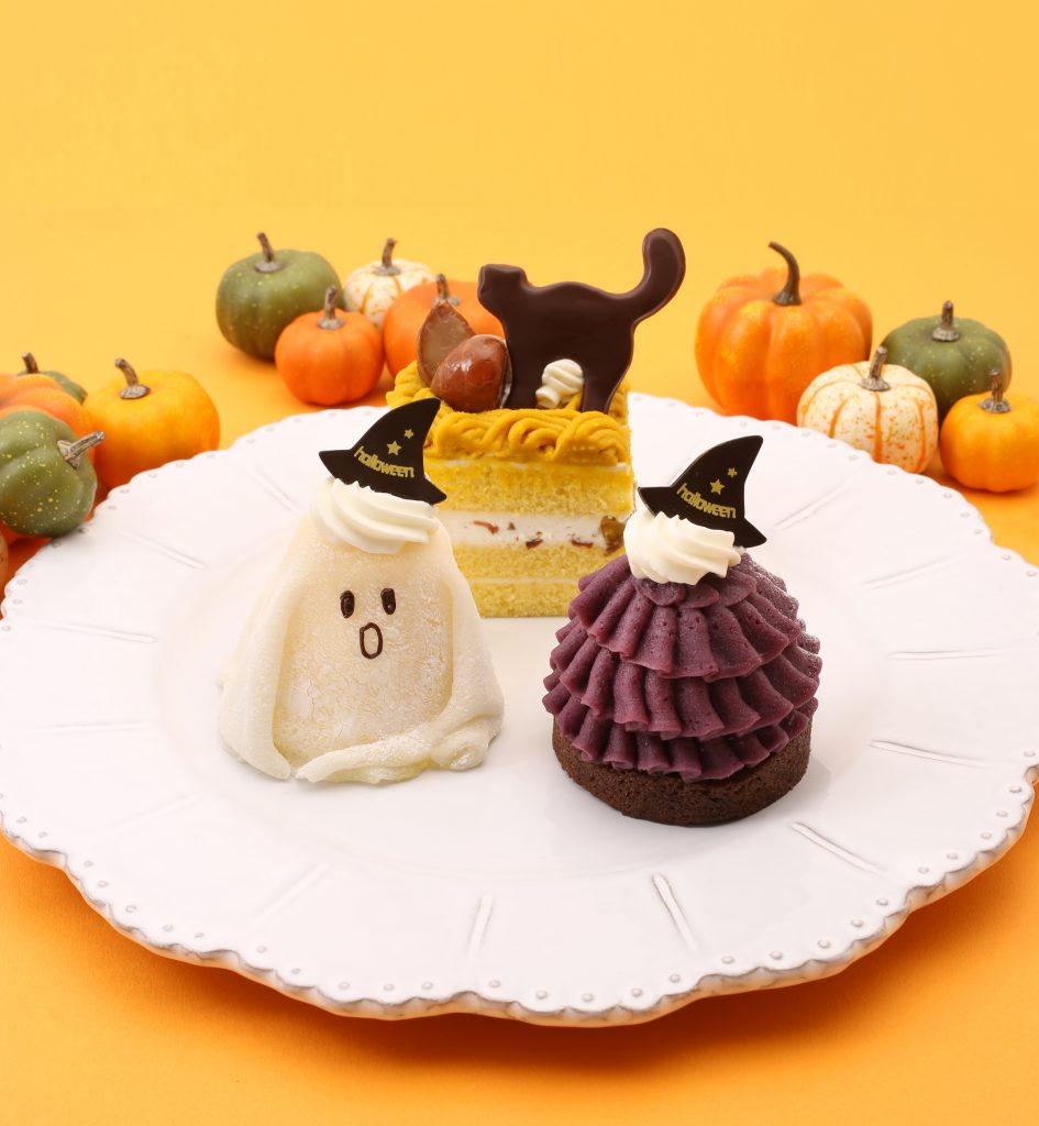 ハロウィン小物ケーキ3種イメージ_トリ