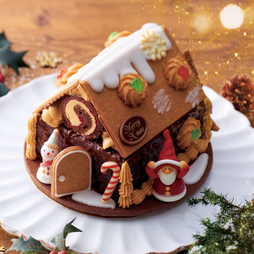 サンタのお菓子の家