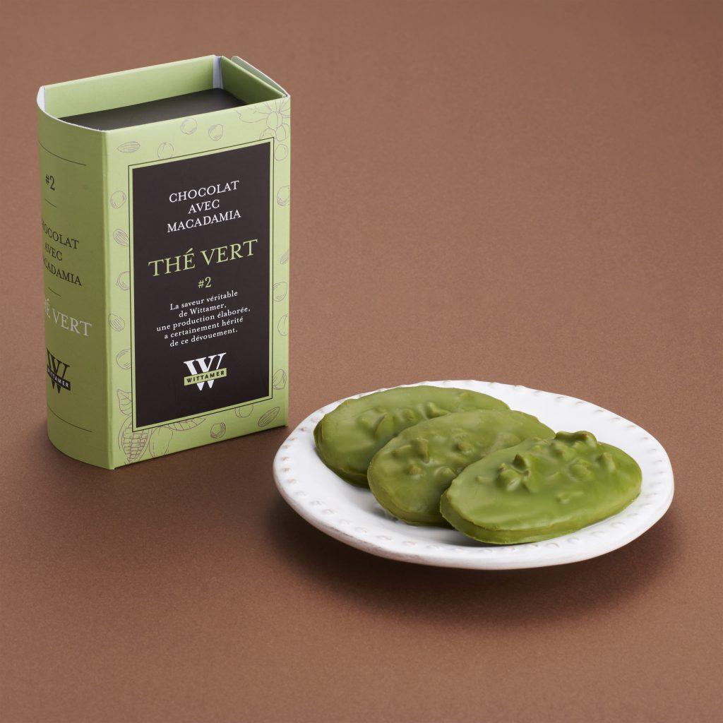 抹茶 宇治抹茶を使用した抹茶のチョコレート。抹茶の深みや渋みを楽しめます。