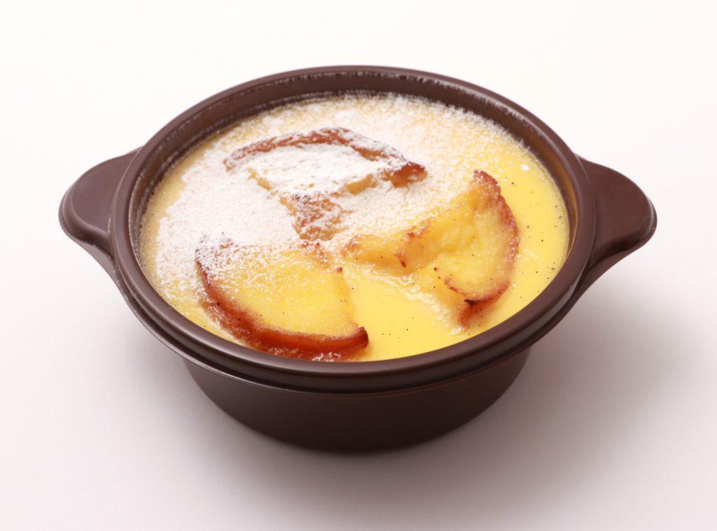 ▲ブリオッシュ・フレンチトースト・ブリュレ ~自家製 苺のコンフィチュール入り~